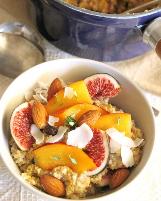 Quinoa and Chia Porridge