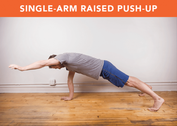 Single-Arm Raised