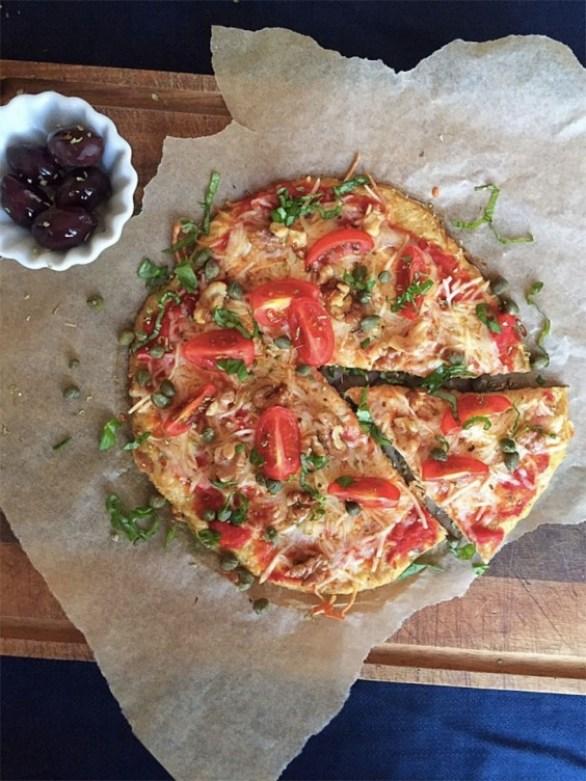 Low-Carb Tuna Pizza