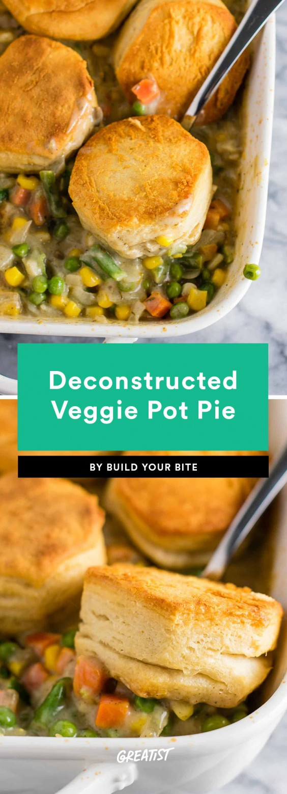 Veggie Pot Pie Recipe