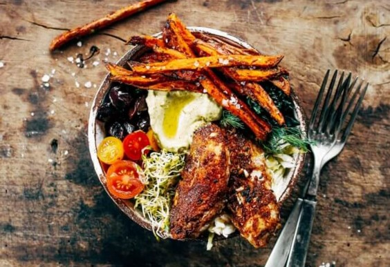 Paleo Southwest Chicken and Fries