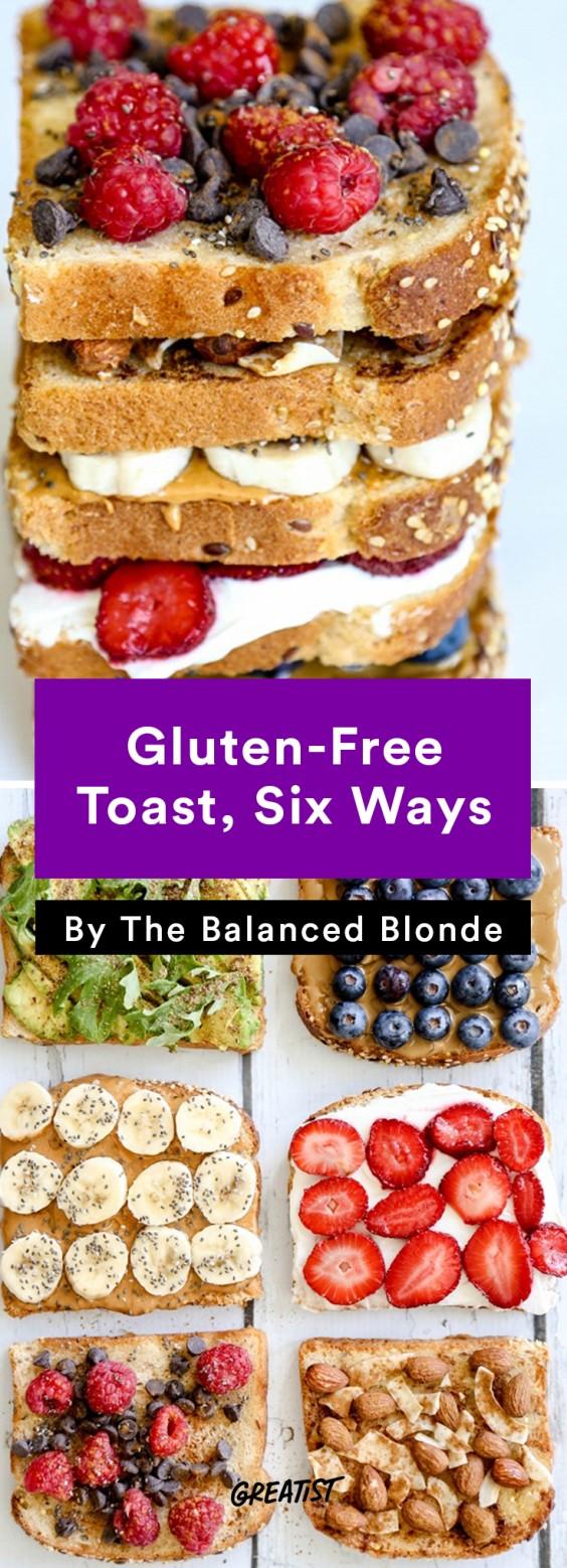 Balanced Blonde: Gluten-Free Toast