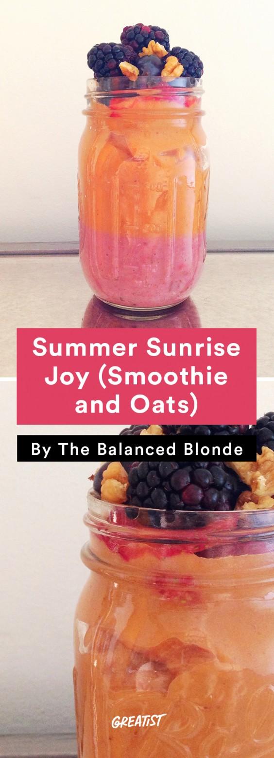 Balanced Blonde: Summer Sunrise Joy