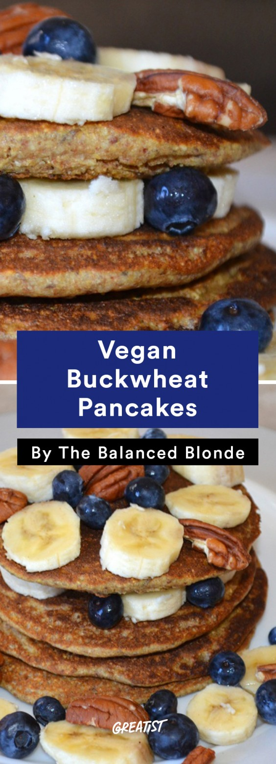 Balanced Blonde: Pancakes