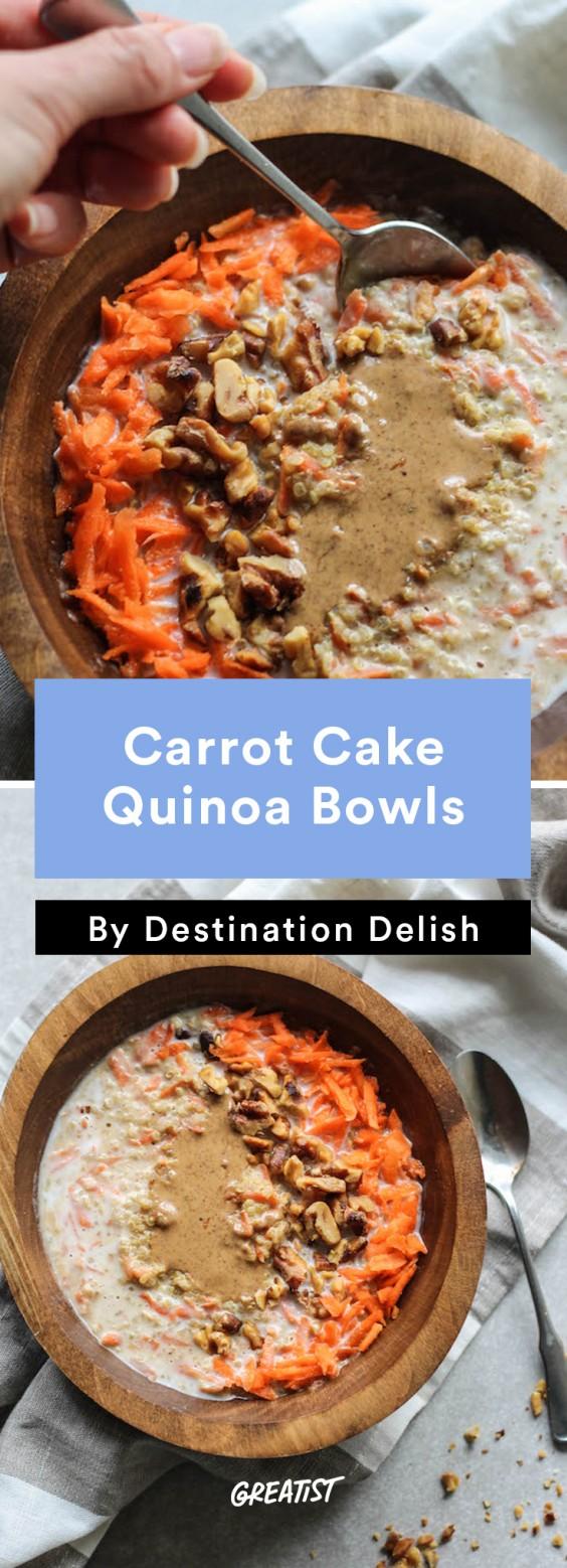 Destination Delish: carrot quinoa