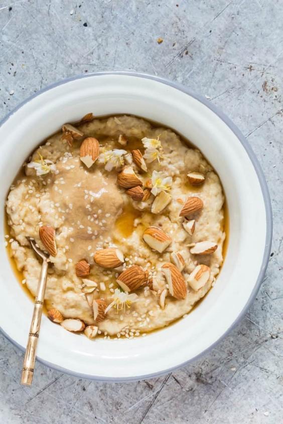 Creamy Tahini Porridge Recipe