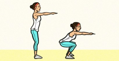Image result for Bodyweight Squats