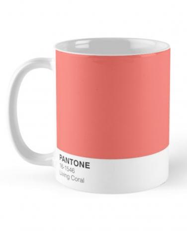 Pantone Living Coral Mug Product