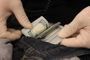 Customs Seizure of $13,919 at Dulles Airport.