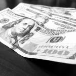 Hundred dollar bills seized by CBP in Detroit