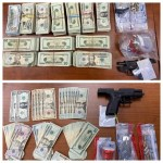 Cash Guns and Drugs Seized by Detroit Customs