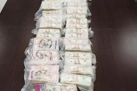Bags of Money Seized by Texas CBP