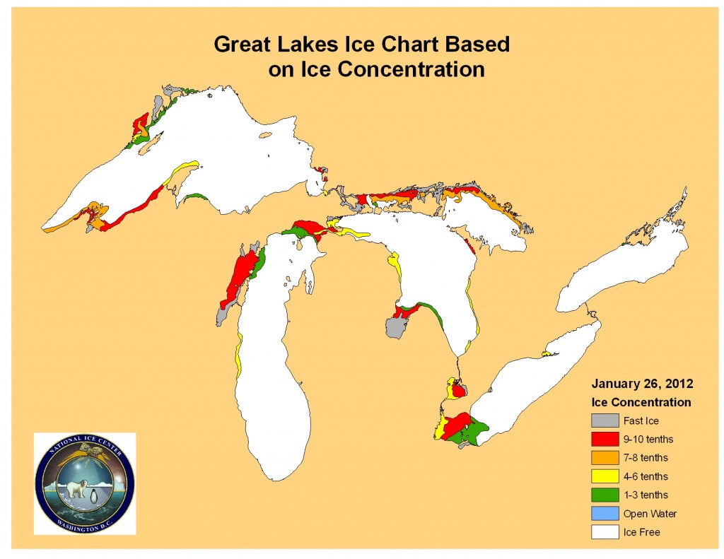 Continued Ice Loss On The Great Lakes May Cause Widespread
