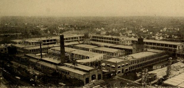 Detroit Packard Plant Tours