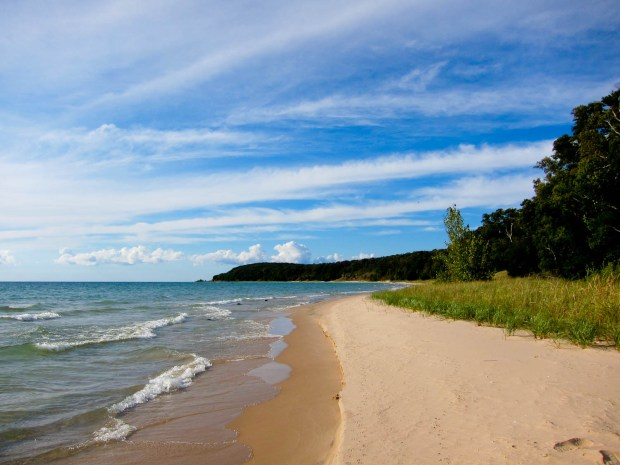 Backpacking North Manitou Island