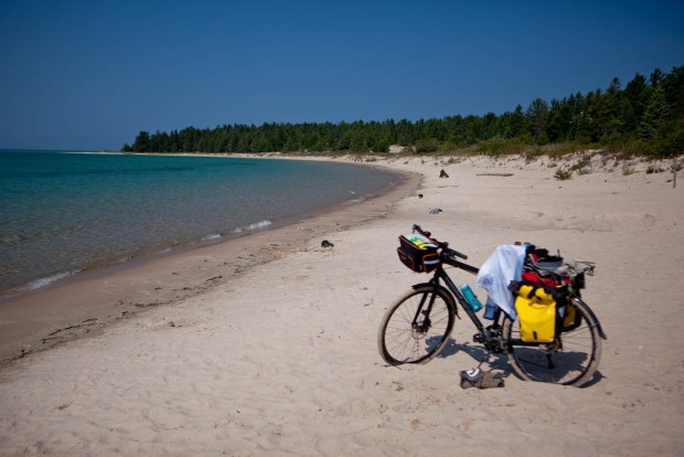 Weekend Bike Touring in Michigan - Beaver Island