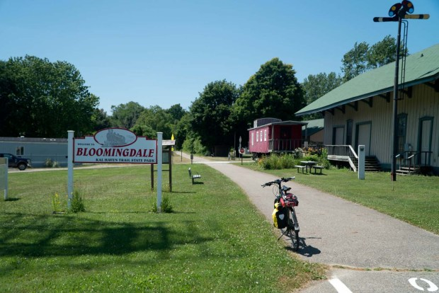 Michigan Bicycle Trails - Kal-Haven Trail