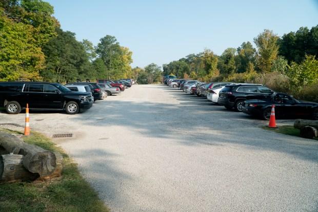 Parking lot at Brandywine Falls