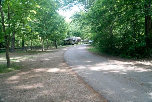 Campground in warren Woods
