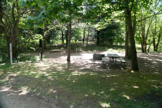 Semi-modern campground in Warren Dunes