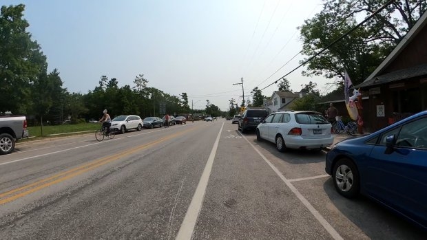 Bike Lane in Glen Arbor