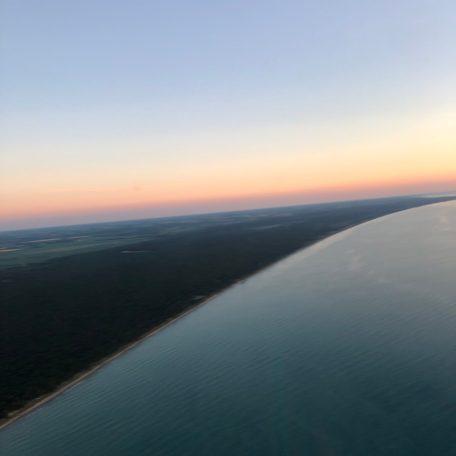Grand Bend shoreline