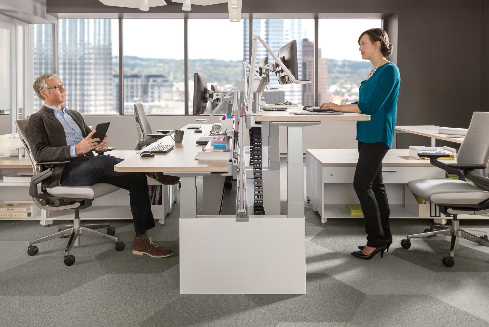 Working At Standing Desks Can Help Us Live Longer Shows