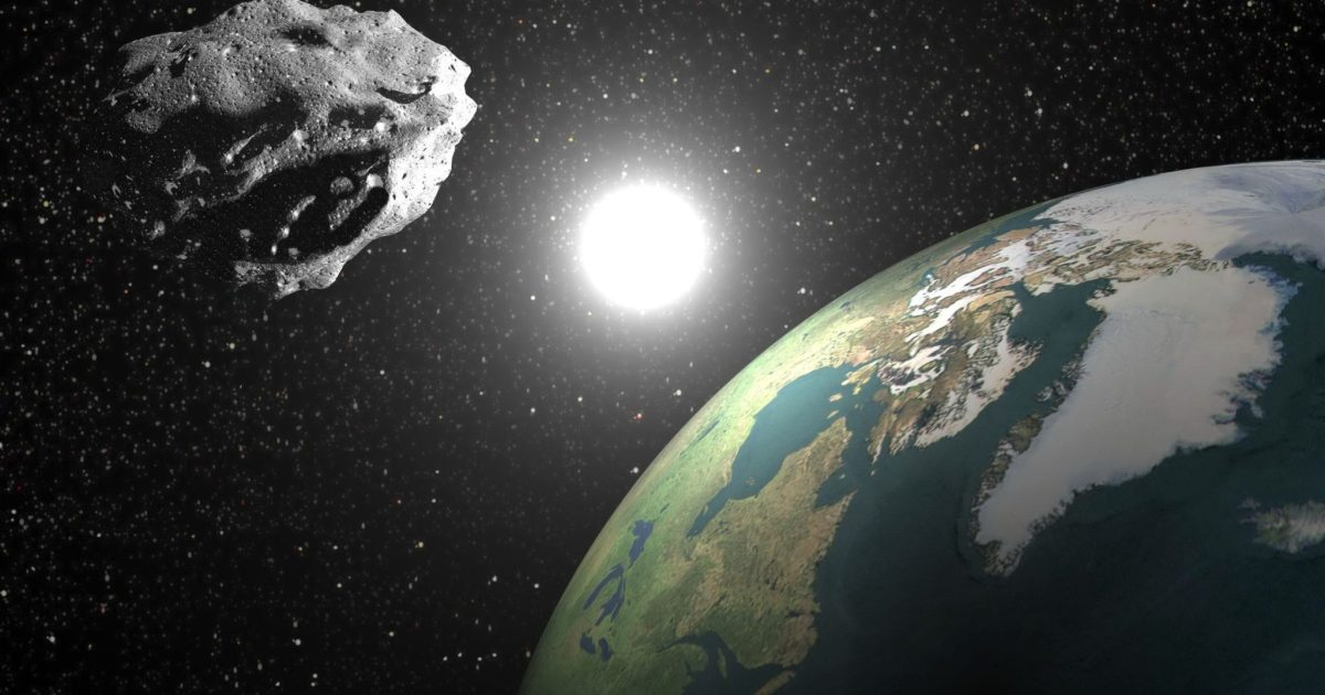 NASA Warning: 850 Foot Asteroid Approaches Earth This Week