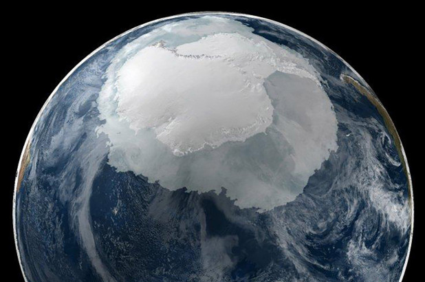 Satellite Images Shows Remnants of Ancient Continents Situated under the Ice from Antarctica