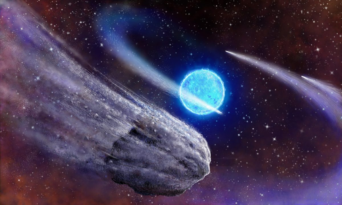 Astronomers Recently Discovered a Planet with a Tail and They Think That it's Actually a Comet