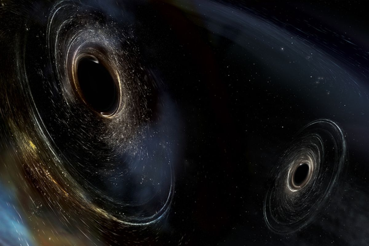 Cosmic Smash-Up Is the Most Massive and Distant Source of Gravitational Waves We've Even Seen