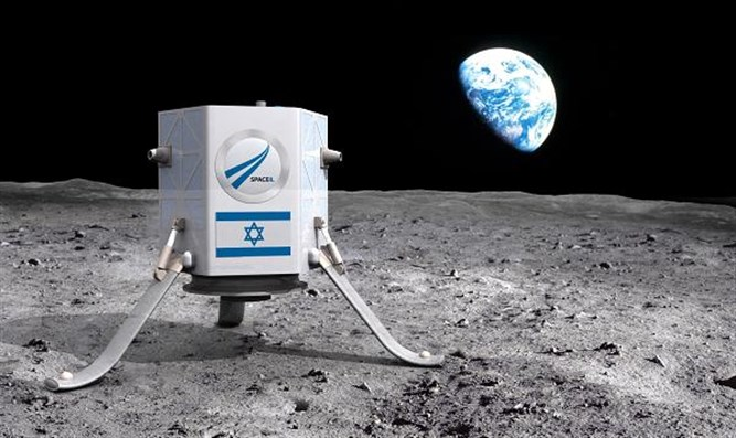 The First Israeli Mission To The Moon To Launch In February Aboard a SpaceX Falcon 9
