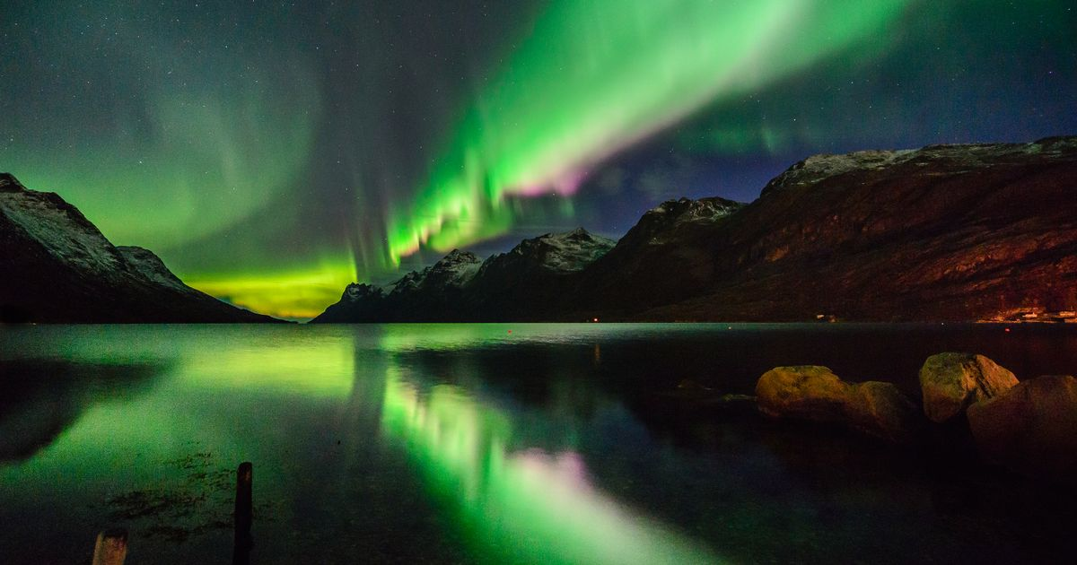 Northern Lights Pushed South Due To Recent Solar Storm