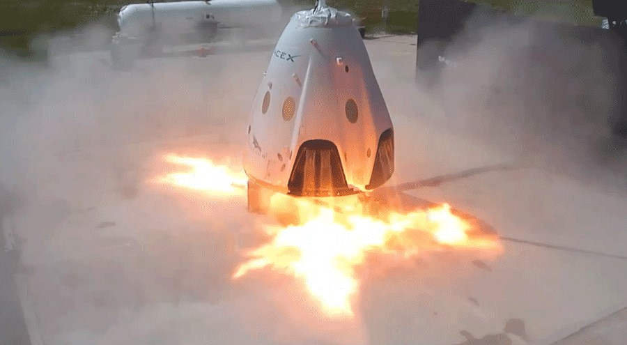 SpaceX Explosion: Shocking Video Of The Crew Dragon In Flames, Leaked