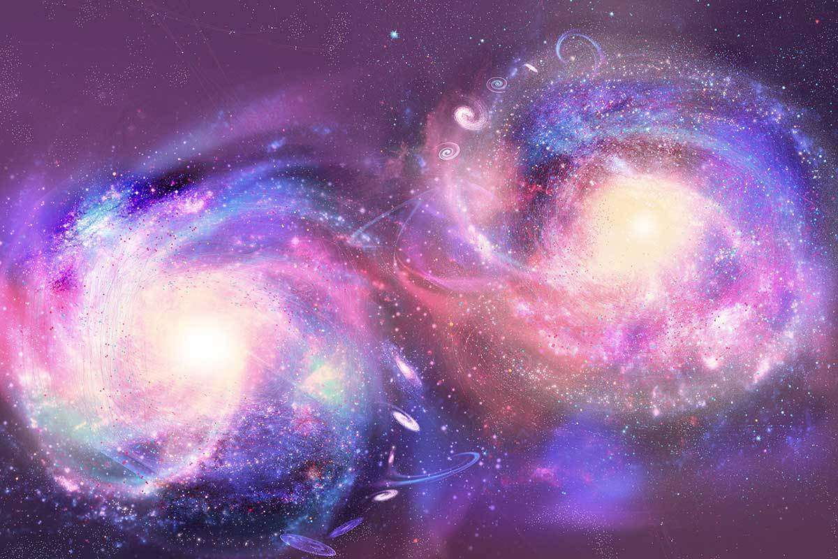 Scientists Found New Evidence of Two Galaxies Colliding