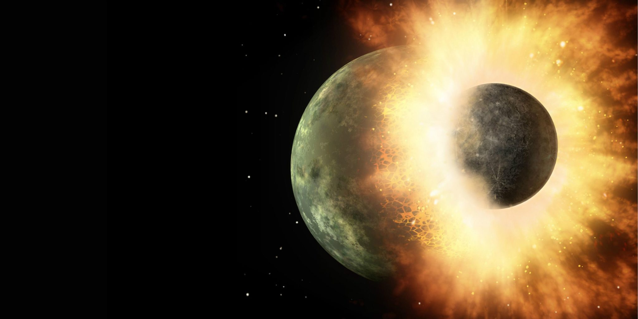 The Giant Impact Hypothesis - Was The Moon Formed From The Earth's Magma