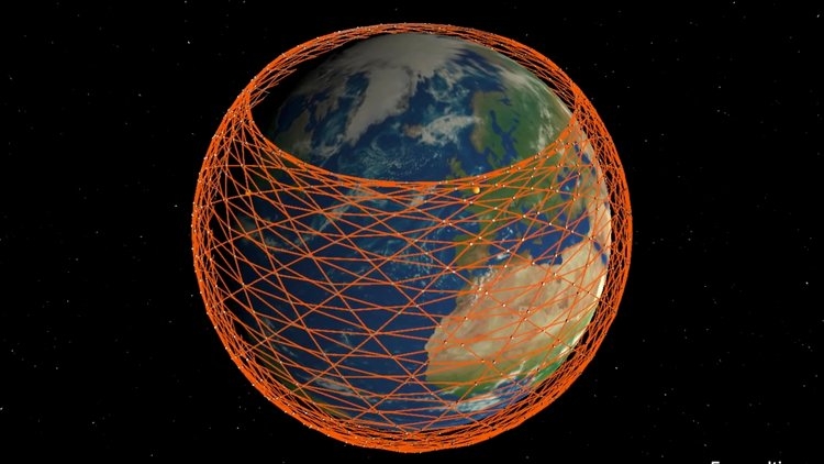 "SpaceX ""Starlink"" Satellites Launch Could Create A Layer Of Space Junk Around The Earth"