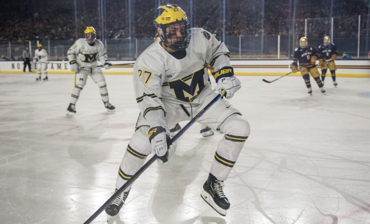 Michigan Vs Minnesota Hockey Tournament Preview