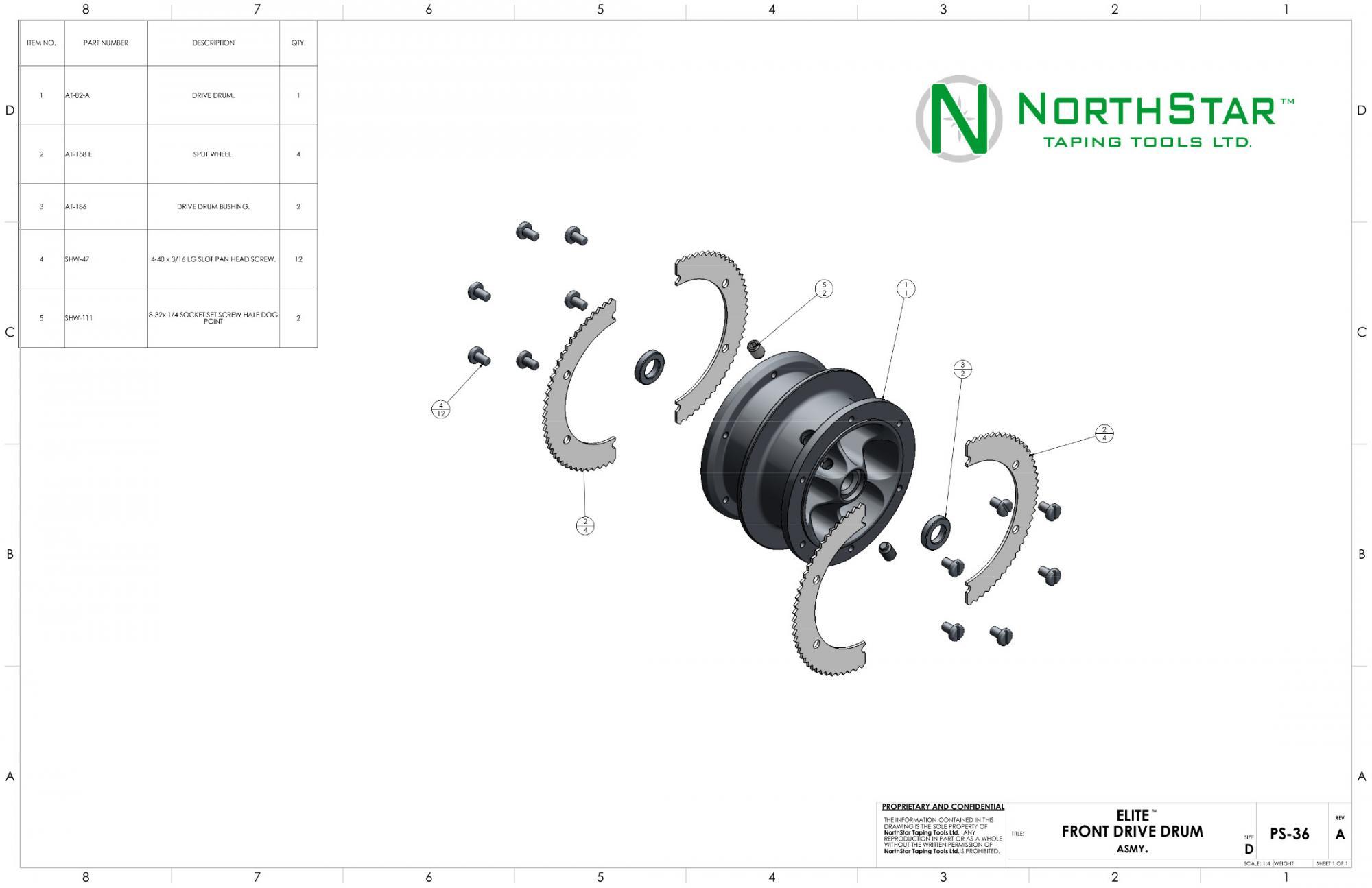 Northstar Taper Head Parts