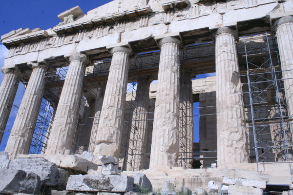 The Parthenon in 2010 Photo Credit: Kathy Mizera