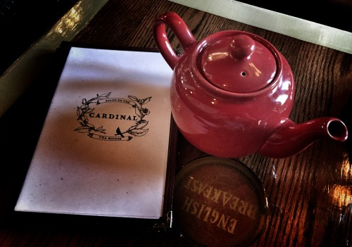 Cardinal Teapot