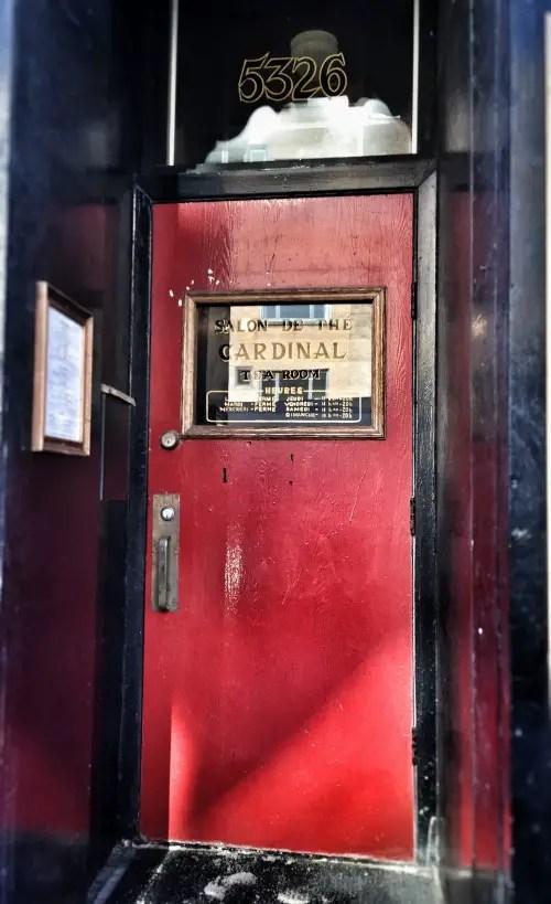 Cardinal Door