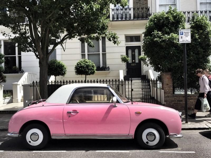 Fancy a pink car?