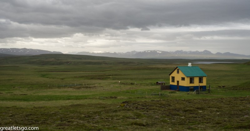 Farmhouse seen while driving around Iceland.