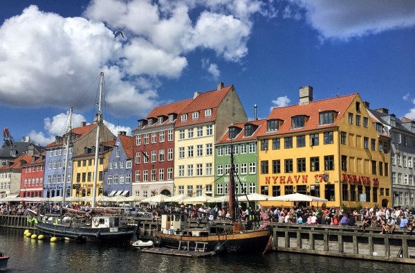 The Beautiful Picturesque Copenhagen