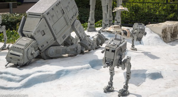 Empire Strikes Back scene at Legoland