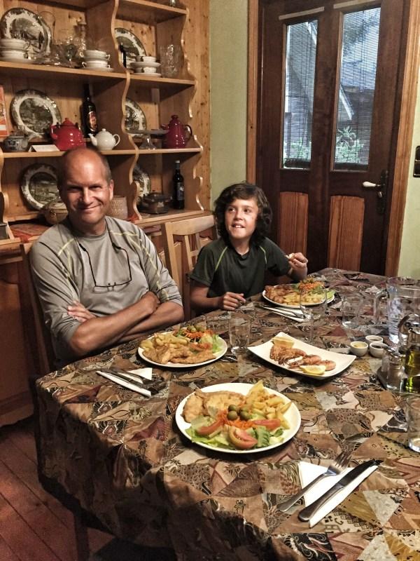 Dinner at Casa Verde - La Rioja, Spain
