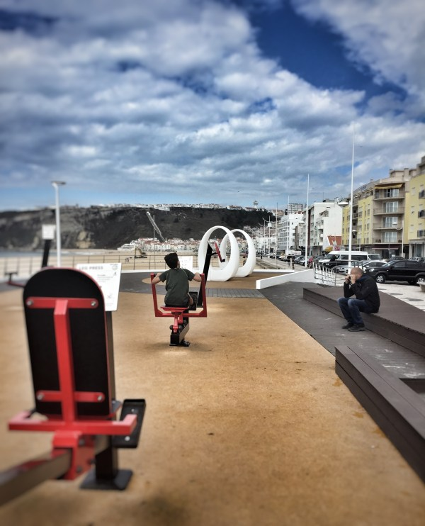 exercise Nazare Portugal