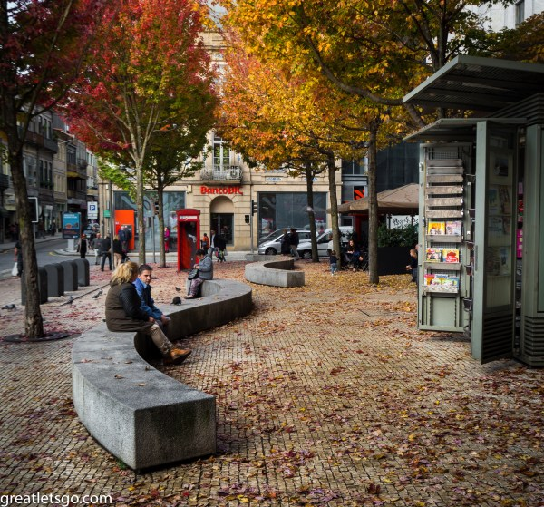 Porto Fall Colours