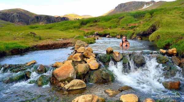 hot river in Iceland